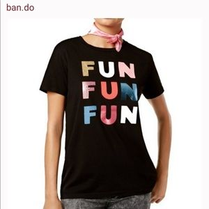 Ban.do Fun Fun Fun Women's Graphic Tee